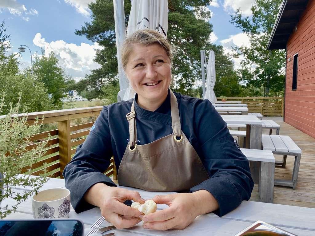 Yrittäjä-kokki Susanna Stolpe